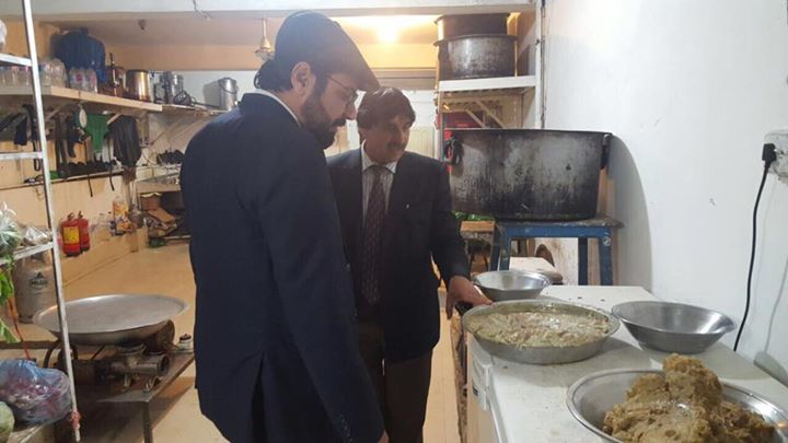 District Administration Swat is fully committed to ensure hygiene and cleanliness in hotels and rest