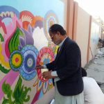 Calligraphy and art are powerful tool to reflect culture,norm, heritage and beauty of a society.A ma