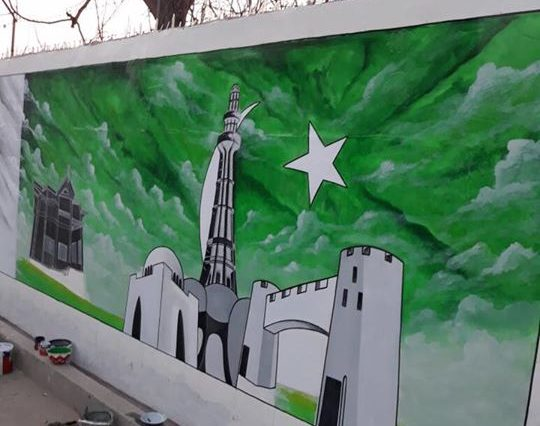 Beautification program Rang de Swat is in full swing in all parts of District Swat.Expert artist and