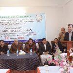 صوبائی سطح پر سب سے پہلے ضلع سوات میں موبائل ملک ٹیسٹنگ لیب کا با ضابطہ طور پر افتتاح کردیا گیا۔