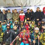 ضلعی انتظامیہ سوات،پاک فوج، ریسکیو1122 اورپولیس ڈیپارٹمنٹ کے تعاون سےمالم جبہ میں شروع کیے گئے سکی م