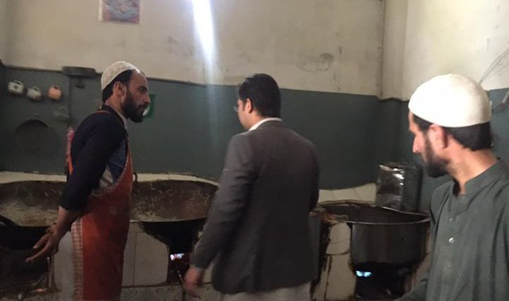 District Administration Swat received a lot of complaints regarding sub standard chips and snacks.De
