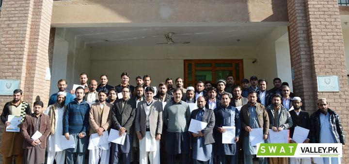 "Group Photo of District Focal Persons after the event of IPMS Training session, & ""Appreciation Cert"