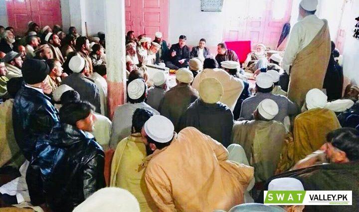 ضلعی انتظا میہ سوات کی طرف سے آج گاوں لالکوکی جامع مسجد میں کھلی کچہری کا انعقاد۔