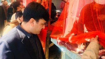 Bazaar Checking by AC Matta Mr. Jan Muhammad.
