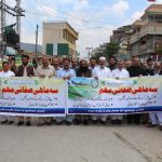 Some glimpses of awareness walk and cleanliness campaign in different Tehsil's of District Swat.