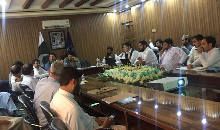 On the direction of the worthy Chief Secretary, Khyber Pakhtunkhwa, today on (09-05-2018) Deputy Coo
