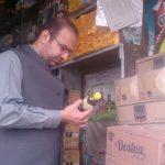 Bazar checking at Sub-Division Barikot by the Assistant Commissioner Barikot, Mr. Shakeel Khan.