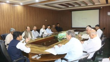 Meeting of the District Steering Committee (Health) chaired by the Deputy Commissioner Swat.