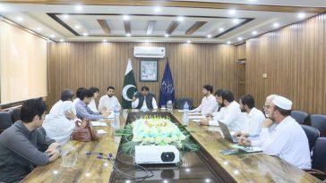 ڈی سی سوات کی صدارت میں مقامی اداروں کے مابین مقابلہ صفائی سُتھرائی کے حوالے سے اہم اجلاس۔