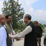 Visit of the honourable Chief Secretary Khyber Pakhtunkhwa to Swat...