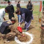 ڈپٹی کمشنر سوات ثاقب رضا اسلم نے سوات کے علاقہ برہ بانڈئی میں پاک فوج کے زیراہتمام ایک سادہ مگر پروق
