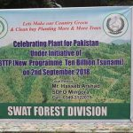 """""""Plant for Pakistan"""" day was celebrated in distt Swat and plantation of 20000 saplings started in th"""