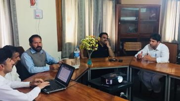 Visit of the Deputy Commissioner Swat Mr. Saqib Raza Aslam to the Govt. Trout Culture Training Cente