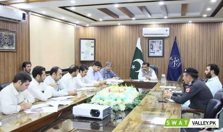 1st Day-Polio Evening Review Meeting, chaired by the Deputy Commissioner Mr. Saqib Raza Aslam.