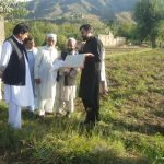 On the directions of worthy DC Swat, Addl.AC Revenue, Swat. Carried out Inspection of Gardawari Khar
