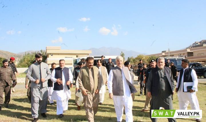 وزیر اعلیٰ خیبر پختونخوا محمود خان نے گراسی گراونڈ سیدو شریف سوات میں آج  نیا پاکستان ہاوسنگ پروگرام