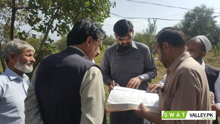 On the directions of worthy DC Swat, Addl.AC Revenue, Swat carried out Inspection of Gardawari Khari