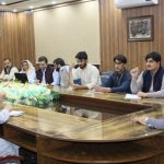 Evening meeting of the Measles's Eradication Campaign held under the Chairmanship of the DC Swat Mr.