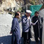 Action against illegal crush plant in Sub Division Khwazakhela