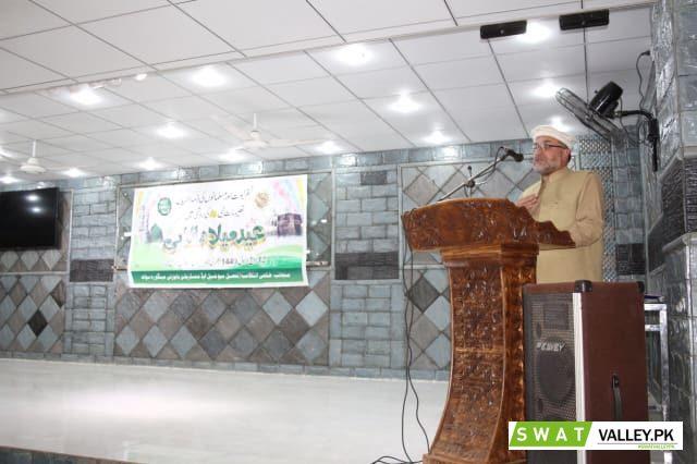 ملک بھر کی طرح کل ضلع سوات میں بھی آقائے دو جہاں خاتم النبین حضرت محمد ﷺ کا جشن ولادت باسعادت مذہبی