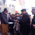 Inauguration of snow festival at Malam Jabba by Commisioner Malakand and dc swat.