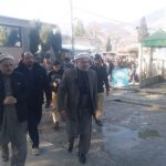 On the direction of the DC Swat, the Assistant Commissioner Babuzai visited Saidu Hospital on 13/01/