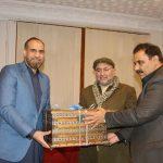 Farewell Dinner for Mr. Zaheer ul Islam Commissioner Malakand Division. GOC Major General Khalid Sae