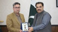 Farewell in honor of the outgoing Assistant Commissioner Khwazakhela Mr. Jamshed Khan.