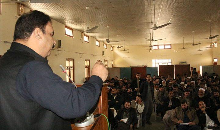 ڈپٹی کمشنر سوات ثاقب رضا اسلم کی سربراہی میں مٹہ ڈگری کالج میں کھلی کچہری کا انعقاد