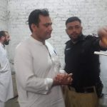 Today Assistant Commissioner Matta Zameen Khan and Additional Assistant Commissioner (r)Shakirullah