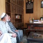 Meeting of the Assistant Commissioner Khwazakhela Riaz Ali Khan with Khwazakhela Trade Federation an