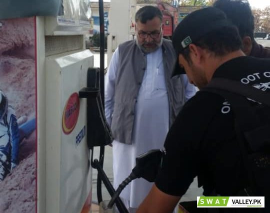Public Facilities checking, Cleanliness Conditions and Gauges checking in all Petrol Pumps in Sub-Di