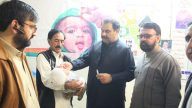 DC Swat Saqib Raza Aslam formally inaugurated the Polio Campaign-NID February 2020