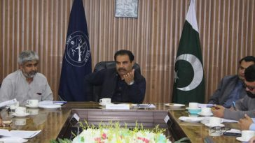 DC Swat chairing Day-1 Evening Review Meeting of Polio Campaign NID February 2020.