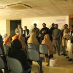 DC Swat Saqib Raza Aslam chaired the evening meeting at UC Saidu Sharif. While addressing the Polio