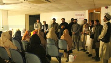 DC Swat Saqib Raza Aslam chaired the evening meeting at UC Saidu Sharif. While addressing the Polio