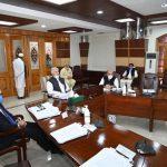 *وزیر اعلی خیبر پختونخوا محمود خان کی زیرصدارت صوبائی کابینہ کے اجلاس میں کئے گئے اہم فیصلے*