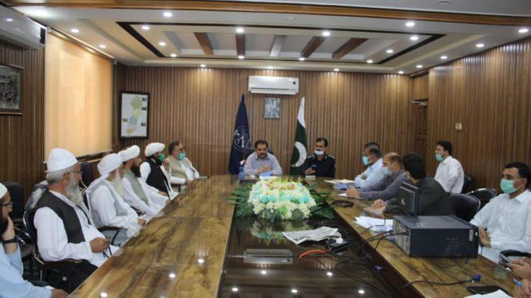 ڈپٹی کمشنر سوات ثاقب رضا اسلم کاعیدالفطر اور جمعتہ الوداع کی آمد پر ضلع کے تمام تحصیلوں کے علماء کرا