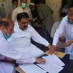 As per instructions of the Provincial Govt, Revenue Darbar was held today in the office of the Assis