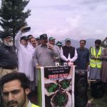 Inauguration of Tiger Force Plantation on Shangla Top by District Administration Swat and Swat Fores
