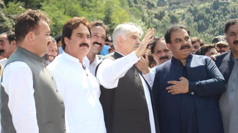 وزیر اعلیٰ خیبرپختونخوا محمود خان کی سوات آمد۔