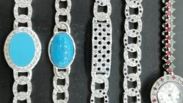 دبئ داماس مینگورہ سوات 03459519141 Men's bracelet