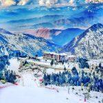 مالم جبہ، سوات ویلی۔۔ Beauty of Malam Jabba Ski resort during snowy season(a