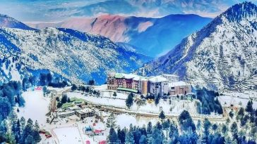 مالم جبہ، سوات ویلی۔۔ Beauty of Malam Jabba Ski resort during snowy season(a