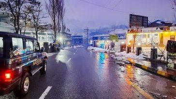 کالام ویلی بازار، سوات۔۔آجکے شام کا منظر ۔۔۔ Today's Evening view of Kalam Valle