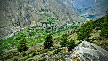 Hometown Rehmanpur Valley(Astore) Amazing view from Mountains.