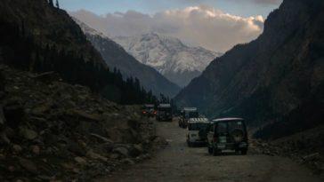 Towards the mountains! . . . . . . .