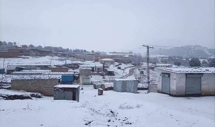 Today Snowfall in Razmak (Mini London) North Waziristan KP . . . . . follow
