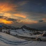 Sunset at Malam Jabba   Book your trips with